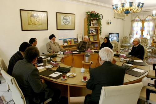 Meeting of the International Elite Guests of the 8th International Farabi Festival with the President of the Iranology Foundation